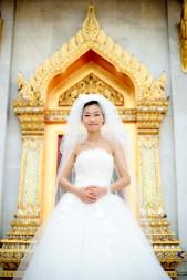 Thailand Bangkok Marble Temple Wedding Photography   NET-Photography Thailand Wedding Photographer