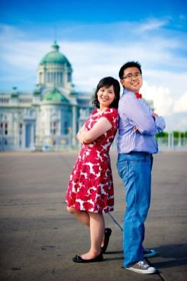 Thailand Bangkok Ananta Samakhom Throne Hall Wedding Photography | NET-Photography