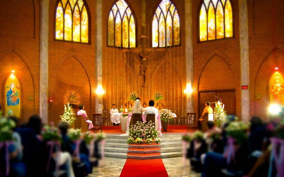 Saint John's Church Bangkok Thailand Wedding Photography
