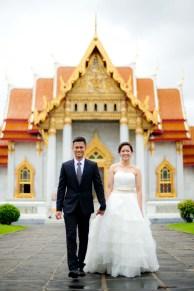 Marble Temple (Wat Benchamabophit) Bangkok Thailand Pre-Wedding Photography