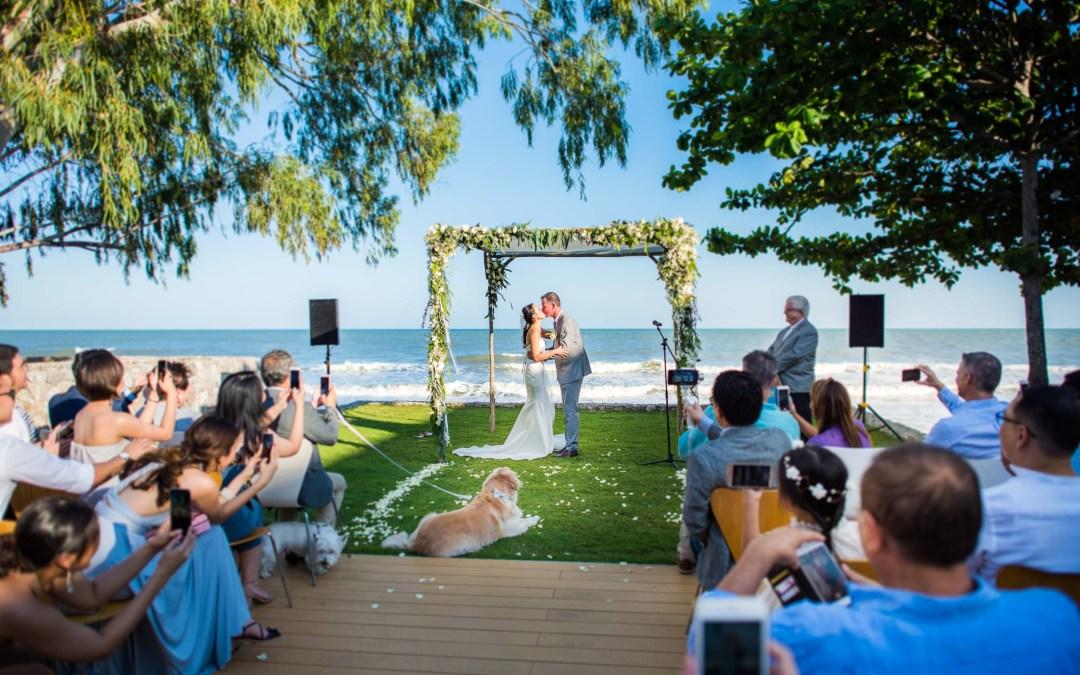X2 Kui Buri Resort Wedding: Before & After Color Correction