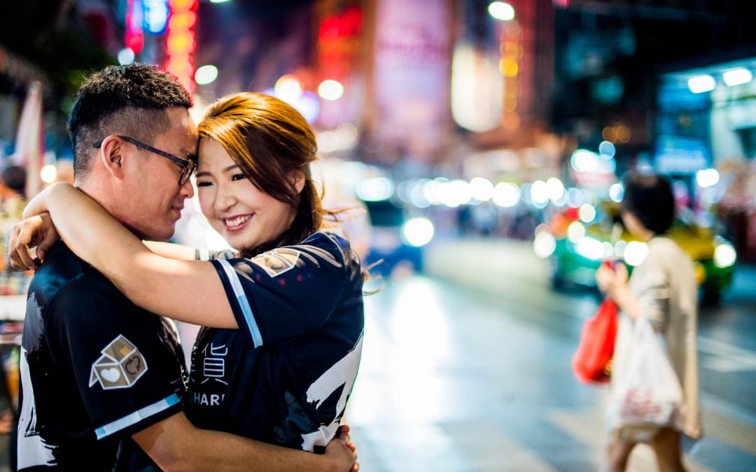 Preview: Night Prenuptial at Yaowarat Street (China Town) Bangkok