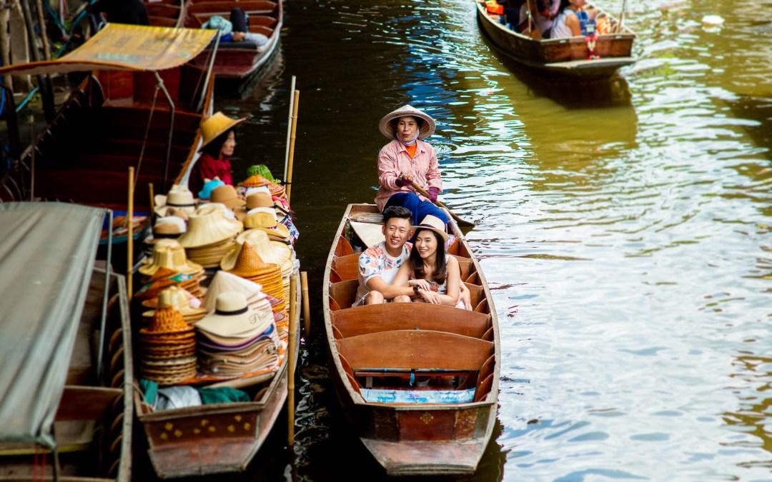 Preview: Damnoen Saduak Floating Market Wedding Photography