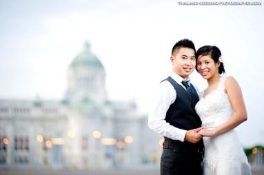 Thailand Bangkok Ananta Samakhom Throne Hall Honeymoon Session