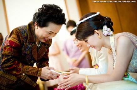 Thai Engagement photo taken at Sukhothai Hotel in Bangkok, Thailand.