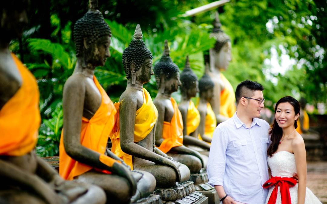 Ayutthaya & Bangkok Pre-Wedding (Engagement Session, Prenuptial)