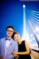 Thailand Bangkok Rama VIII Suspension Bridge Engagement Session | NET-Photography Thailand Photographer