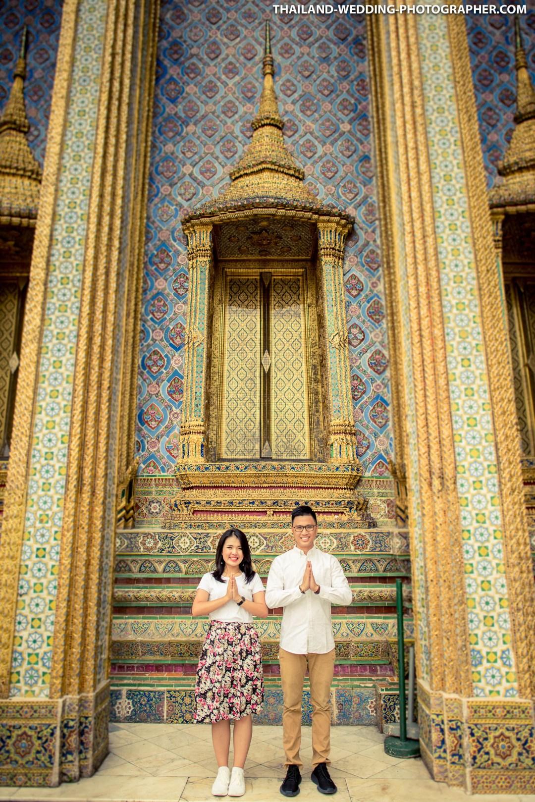 Thailand Bangkok The Grand Palace Wedding Photography | NET-Photography Thailand Wedding Photographer