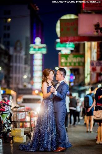 China Town Bangkok Thailand Engagement Photography