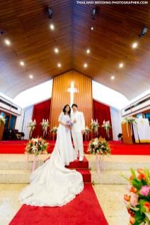 Thailand Bangkok Wattana Church Wedding