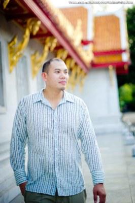Marble Temple Bangkok Pre-Wedding Photography