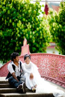 Afra & Fahd's Post-Wedding Session in Bangkok, Thailand.