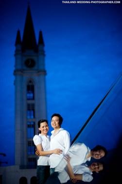 Ple & Shin's Pre-Wedding at ABAC in Thailand.