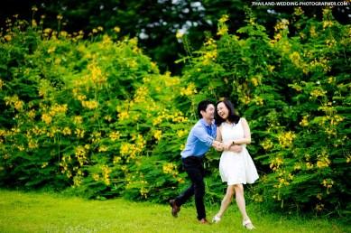 Wachirabenchatat Park Bangkok Thailand Wedding Photography   NET-Photography Thailand Wedding Photographer