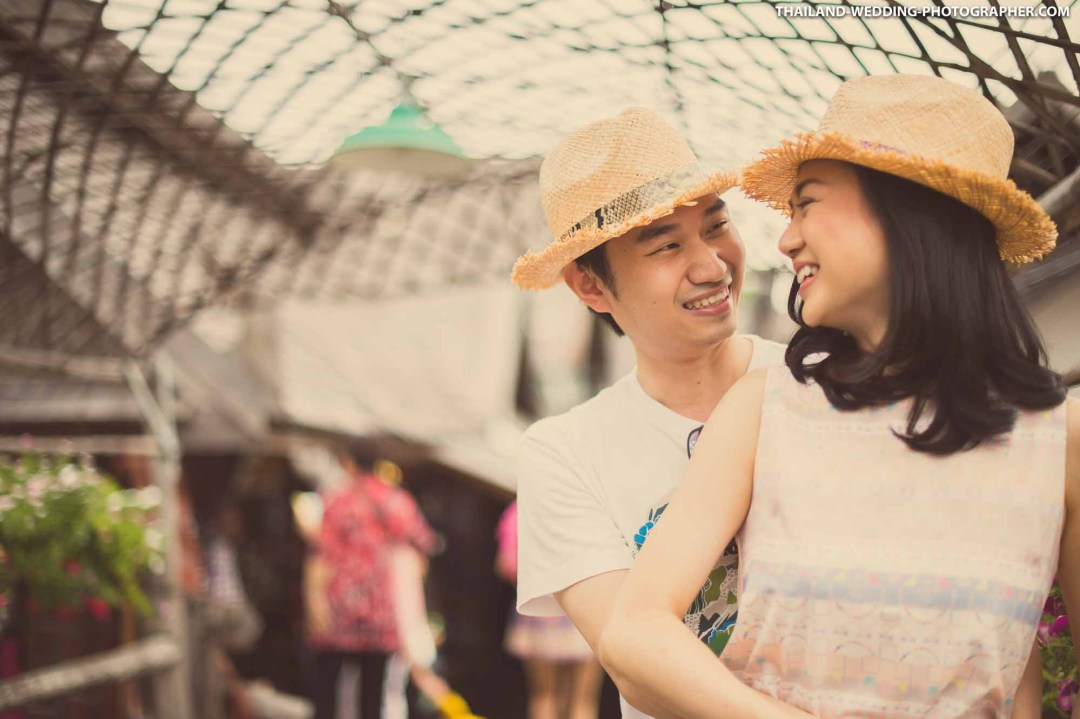 Thailand Pattaya Floating Market Wedding Photography | NET-Photography Thailand Wedding Photographer