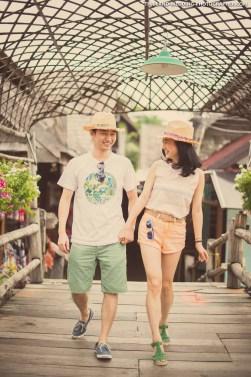 Thailand Pattaya Floating Market Wedding Photography   NET-Photography Thailand Wedding Photographer