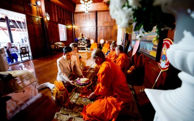 Thai Engagement Ceremony at Dhabkwan Resort & Spa