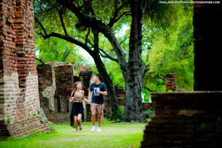 Ayutthaya Historical Park Thailand Wedding Photography | NET-Photography Thailand Wedding Photographer