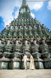 Wat Arun Bangkok Wedding Photography