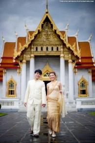 Marble Temple Bangkok Thailand Prenuptial (Pre-Wedding, Engagement Session)