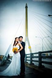 Rama VIII Bridge Bangkok Thailand Prenuptial Photograhy
