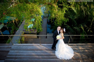 Bangkok Tree House Thailand Wedding Photography