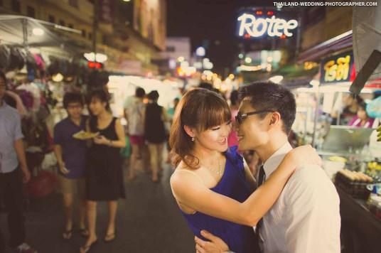 Hua Hin Night Market Thailand Wedding Photography