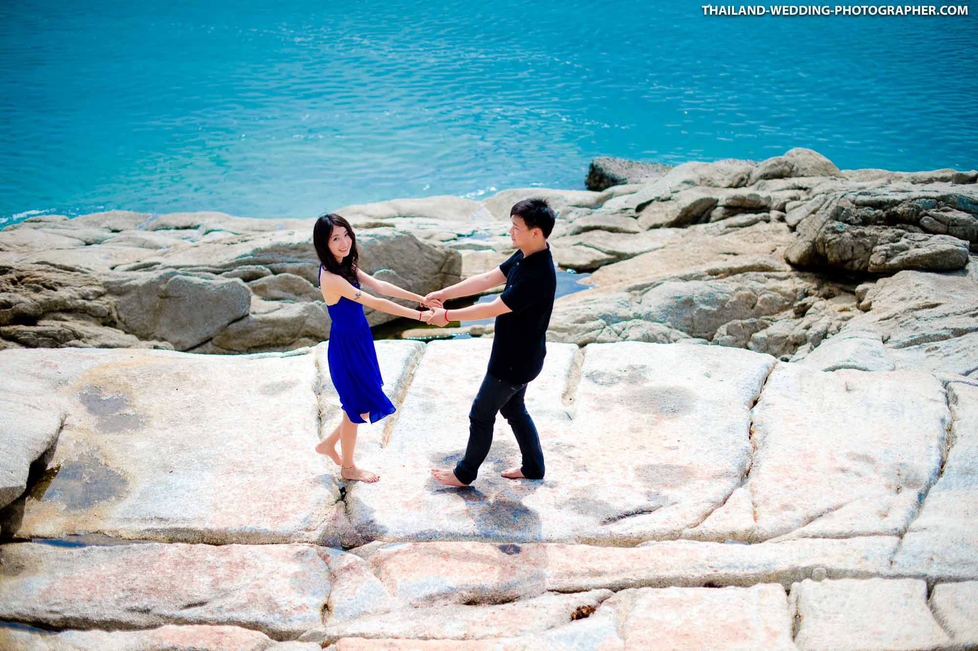 Koh Samui Engagement Session of couple from United Kingdom