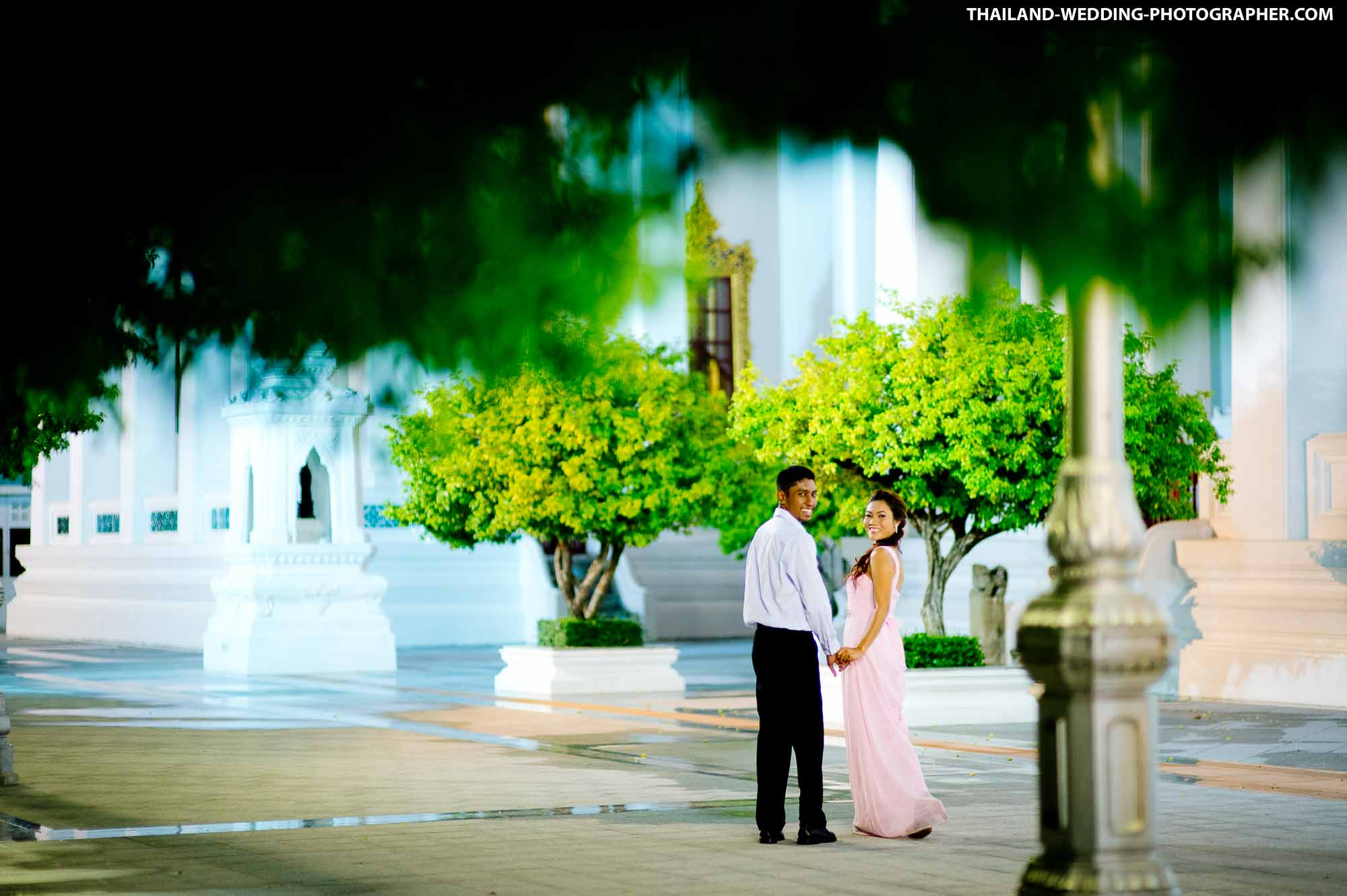 Bangkok Pre-Wedding of couple from Malaysia