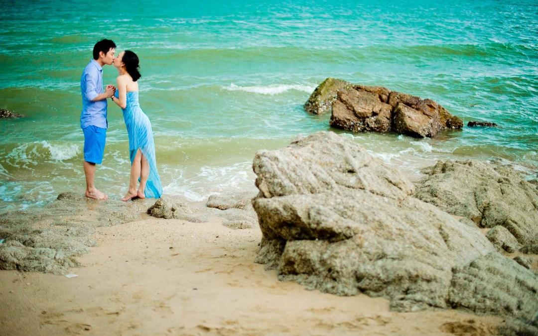 Bangkok & Pattaya Pre-Wedding of Ting & Ming