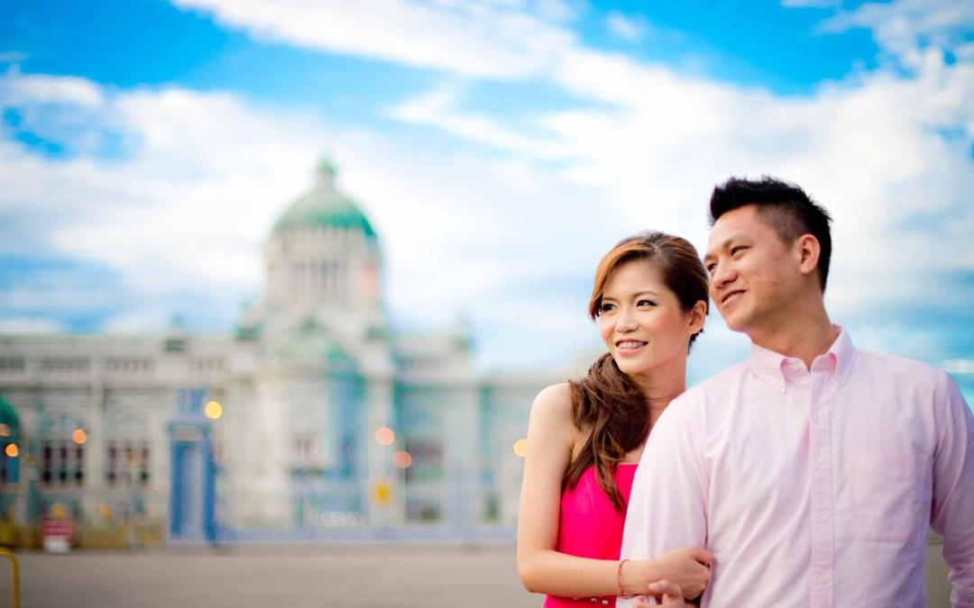 Bangkok Prenuptial of couple from Malaysia
