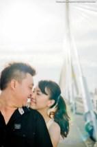 Rama 8 Suspension Bridge Bangkok Thailand Wedding Photography