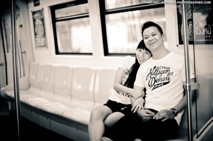 Theda and Joe's Pre-Wedding session at Siam in Bangkok, Thailand.