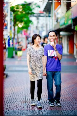 Siam Bangkok Pre-Wedding Photography