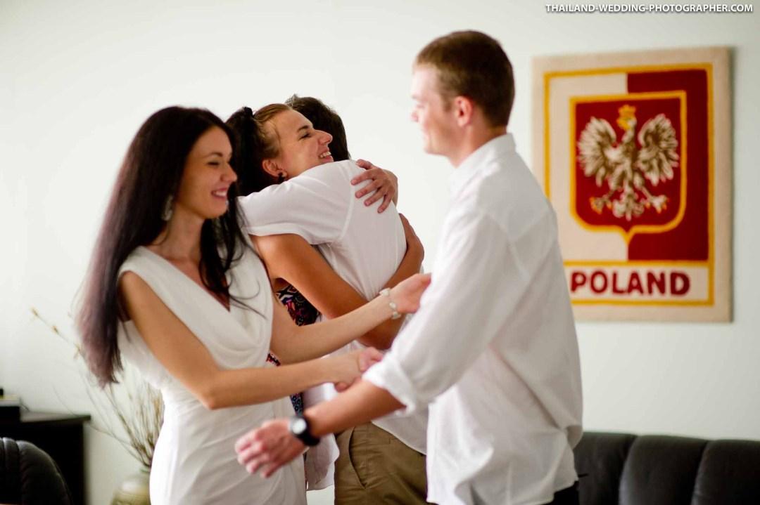 Embassy of Poland Bangkok Thailand Wedding Photography