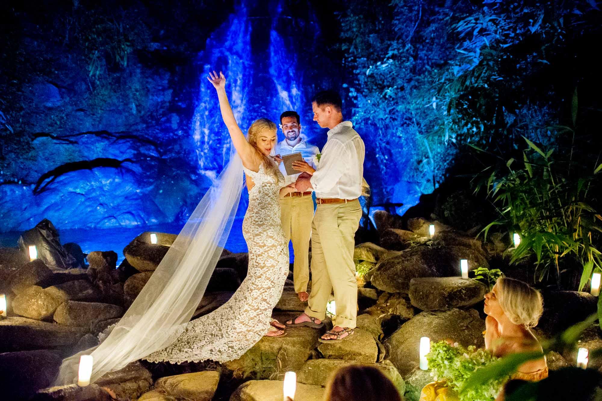Sai Rung Waterfall Phang Nga Thailand Wedding