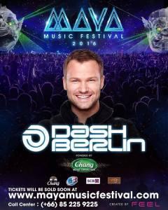 Maya Music Festival Pattaya 2015 with Dash Berlin