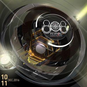 808 Festival Bangkok 2016, DJ, Music Festival, Thailand