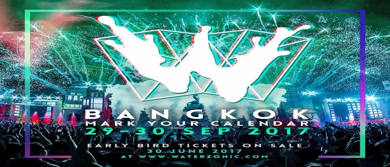 Waterzonic Bangkok 2017, Thailand, DJ, Event, Music Festival