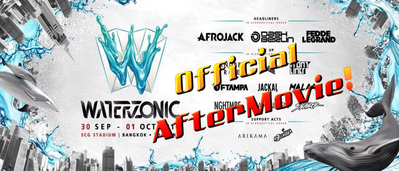 Waterzonic Bangkok 2016 Banner Official Aftermovie, EDM, Music Festival, DJ, Bangkok