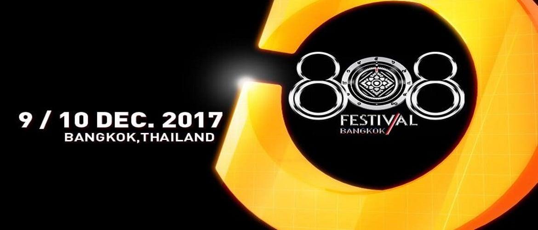 808 Festival Bangkok, DJ, Event, Music Festival