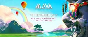 Maya Music Festival Pattaya 2017, Thailand Music Festival, Electronic Music, EDM, Trance, Thai