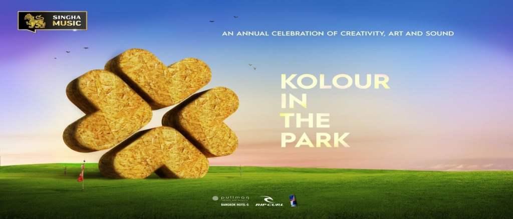 Kolour in The Park Thailand 2018!
