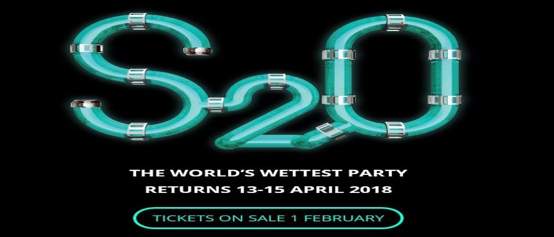 S2O Songkran Music Festival Bangkok 2018, Tickets, Information