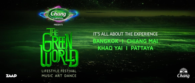 The Green World - Thailand Lifestyle Music Dance Art, DJ