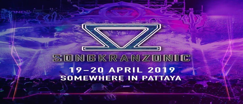 Songkranzonic Pattaya 2019- Announced, DJ, Thailand, Songkran