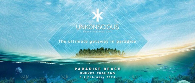 Unkonscious Phuket Thailand 2020, dj, Trance Festival