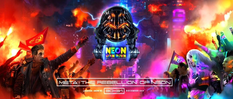 Meta Music Festival - Neon Countdown to the Future NYE 2020