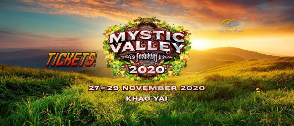Mystic Valley Festival Thailand 2020 Tickets!