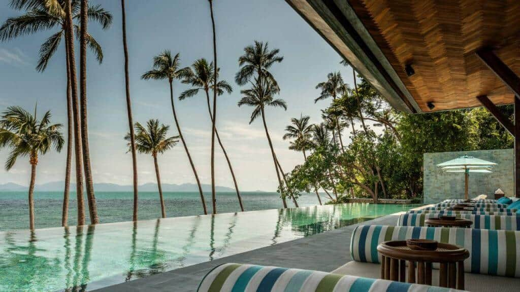 Four Seasons Samui offers stunning views. Thailand Event Guide
